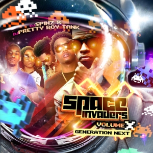 "DJ Spinz And Pretty Boy Tank ""Space Invaders 10"""