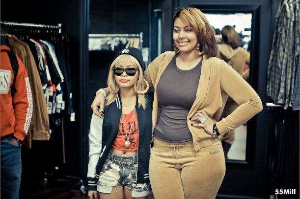 Tyga, Honey Cocaine, DJ Charisma At Last Kings Flagship Store Opening On Melrose In Hollywood, CA