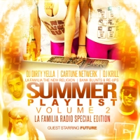 BankBluntsAndReUps Presents… Summer Playlist 2 Hosted By Future Mix By Cartune Netwerk, DJ KRILL And DJ Dirty Yella