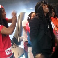 """Behind The Scenes"" Starring: Chief Keef, Justo and Tadoe (Glo Gang) ""Gucci Gang"" Live Performance"