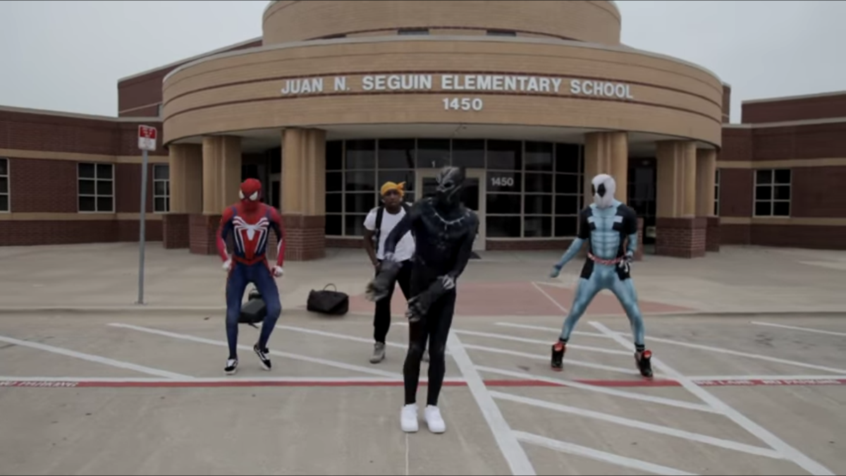 "Watch Ghetto Avengers (Dance Video) for ""Ayo & Teo - Like Us"" shot by @Jmoney1041"