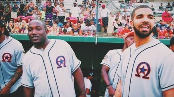 drake-hannibal-buress-team-up-at-ovo-charity-softball-game